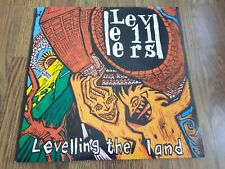 LEVELLERS - LEVELLING THE LAND LP A1 B1 1991 CHINA RECORDS EX+