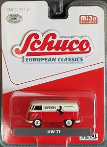14866 4700 Schuco MiJo Exclusive - European Classics Volkswagen T1 Van - Ferra