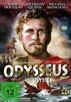 DIE FAHRTEN DES ODYSSEUS (ULYSSES) - CAMERINI,MARIO-KIRK DOUGLAS,  2 DVD NEU