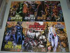 X-MEN: AGE OF APOCALYPSE 1-6 & ONE SHOT (Marvel Comics 2005) COMPLETE SET (VF-)