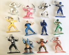 Lot 12 1993 MIGHTY MORPHIN POWER RANGERS Collectibles 3? Mini Figures Bandai