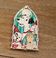 Windows of Magic 101 Dalmatians Pongo Pin Disney  Limited Edition LE 2000.
