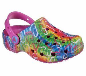 Skechers Clogs Kids Girls Cali Gear Summer Holiday Beach Lightweight EVA Sandals
