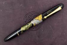 Namiki Nippon Art Collection Dragon and Cumulus Maki-e Fountain Pen 14k M Nib