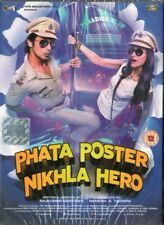 PHATA POSTER NIKLA HERO - EROS BOLLYWOOD DVD - Shahid Kapoor; Ileana D'Cruz.