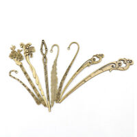Bronze Vintage Hairs Sticks Alloy Hairpins Hair Clip Carved For Women Girls Tk