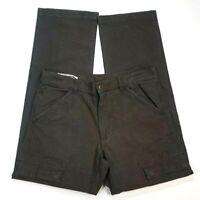 Rodd & Gunn Grey Mens Cargo Pants Size 33 L34 100% Cotton