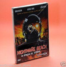 NIGHTMARE BEACH LA SPIAGGIA DEL TERRORE DVD UMBERTO LENZI Sarah Buxton John Saxo