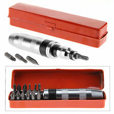 Heavy Duty 13pcs Steel Impact Screwdriver Hand Tool Percussive Drilling Bits Set