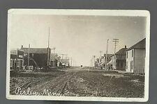 Perley MINNESOTA RP 1911 MAIN STREET Stores nr Moorhead Ada Borup Halstad Fargo