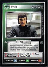 STAR TREK CCG VOYAGER RARE CARD NEVALA