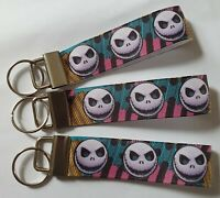 Jack Skellington, Nightmare before Christmas Keyring Keyfob Handmade Fun Gift