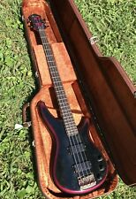 1987 Ibanez Japan RB850 Roadstar Bass Black Cherry W/ Case