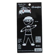 Family Car GRANDPA Window Stickers Decals Vinyl Figure Decoration