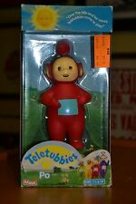 VINTAGE Playskool TELETUBBIES PO RED Vinyl Doll Toy NEW in Pkg Old Stock