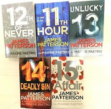 Womens Murder Club Series Collection James Patterson 5 Books Set 11 to 15-BN New