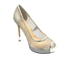 ORIGINAL Guess Platform Heels Female Silver Size 6,5 - FLHDY1FAB07-SILVE-40