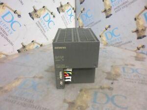 SIEMENS 6EP1334-2BA00 230/120V 2.1/5.5 A SITOP 10 POWER SUPPLY