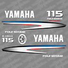 Yamaha 115 four stroke outboard (2002-2006) decal aufkleber addesivo sticker set