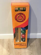 Spartan Sports brand New Croquet Set Garden Fun Imperfect