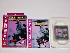 Choplifter III Complete in Box for Sega Game Gear CIB **TESTED & WORKS GREAT**