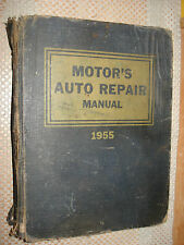 1940-1955 MOTORS SHOP MANUAL DODGE CADILLAC BUICK SERVICE FORD PONTIAC CHEVY