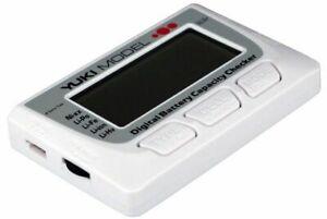 Yuki Digital Batterie Kapazität Prüfer LiPo, LiIon, LiFe, NiMh NEW 700225