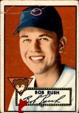Bob Rush 1952 Topps #153 Cubs Good 61124