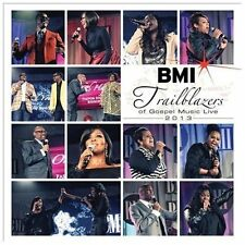 Audio CD: BMI Trailblazers of Gospel Music Live 2013, Various Artists. Good Cond