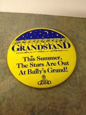 Vintage Bally's Grand Grandstand Under The Stars Promo Pin