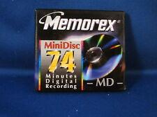 Memorex Mini Disc 74 Minutes Digital Recording
