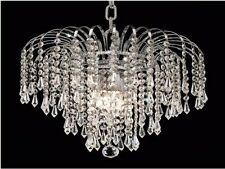 "Palace Lexington 14"" 4 light Crystal Chandelier Light Ceiling Light"