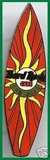 Hard Rock Cafe SAN JUAN 1999 SURFBOARD Series PIN with Smiling Sun - HRC #8514