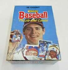 1988 Donruss Baseball Hobby Box (36 Packs) Tom Glavine Rookie Year