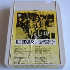 RARE OZ WRC RECORD CLUB 8-TRACK CARTRIDGE TAPE THE BEATLES*MAGICAL MYSTERY TOUR*