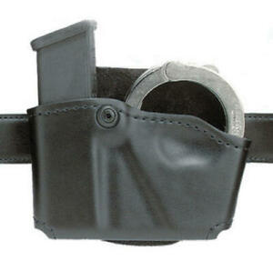 Safariland 573-383-412 Black Left Single Paddle Mag/Cuff Pouch Fits Glock 20 21