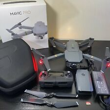 DJI Mavic Pro Quadcopter with Remote Controller | 2x Batteries | Props | Case