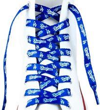 """MLB Los Angeles LA Dodgers Logo Colors 54"""" Shoe Laces One Pair Shoe Strings"""