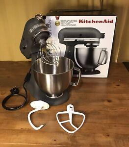 Kitchenaid Artisan Mixer Imperial / Matte Grey 4.8l - Mint Condition