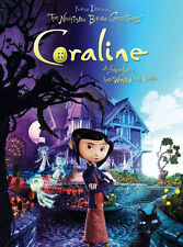 "Coraline Movie Silk Cloth Poster 32 x 24"" Decor 06"