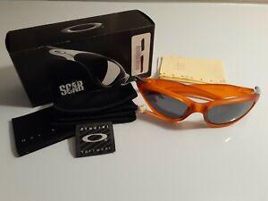 Oakley Scar Persimmon Sunglasses - Black Iridium - MNIB