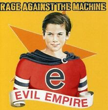 RAGE AGAINST THE MACHINE (EVIL EMPIRE CD SEALED + FREE POST)