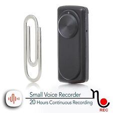 L'enregistreur de voix plus petite 141 heures enregistrement mémoire 8GB