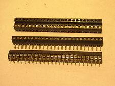 Leiterplatten Klemmen Steckverbindung 24fach 2xkpl.  Nr9