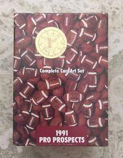 1991 Star Pics Pro Prospects Football Sealed Complete Set - BRETT FAVRE Rookie
