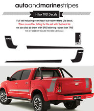 TOYOTA HILUX TRD Decal Kit (not including hard lid decal)