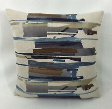 Harlequin Zeal Old Azul marino,Denim,Marrón Diseñador Funda De Cojín