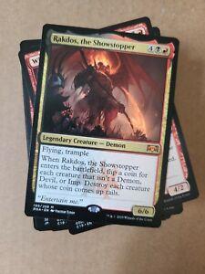 Custom Commander Deck ~ RAKDOS DEMONS ~ Rakdos, the Showstopper ~ EDH MtG Magic