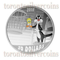 2015 2 oz. Fine Silver Coloured Coin – Looney Tunes™ : Birds Anonymous  Pre-Sale