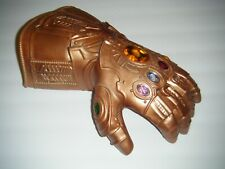 Avengers Thanos Infinity Gauntlet LED Bronze Glove For Cosplay Costume (ADULT)